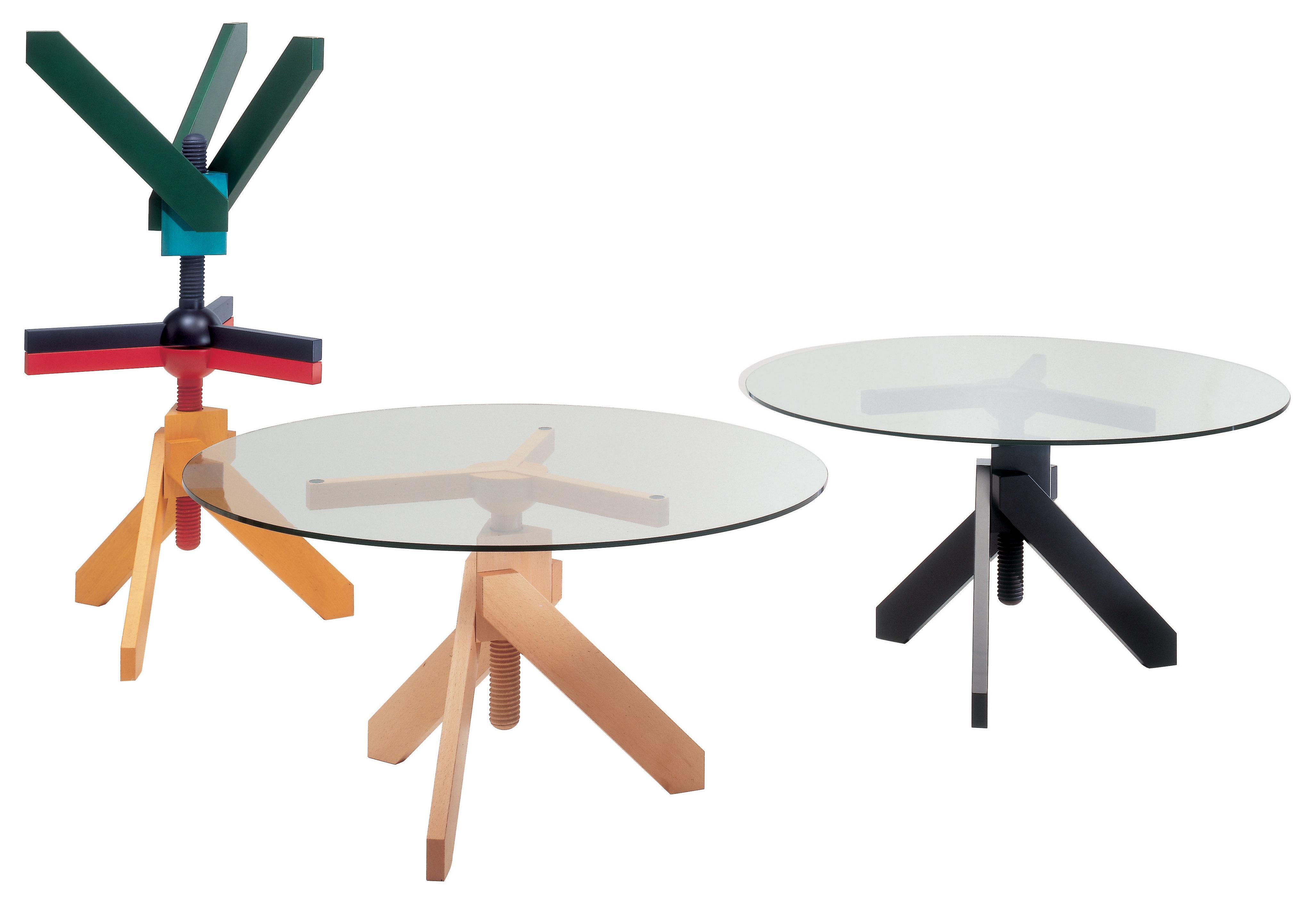 Scopri tavolo vidun altezza regolabile nero di de padova made in design italia - Tavolo regolabile in altezza ...