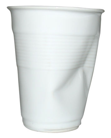 Tavola - Tazze e Boccali - Tazzina da caffè di Rob Brandt - Pop Corn - Bianco - Ceramica