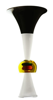 Dekoration - Vasen - Neobule Vase von Ettore Sottsass / 1986 - Memphis Milano - Mehrfarbig - geblasenes Glas