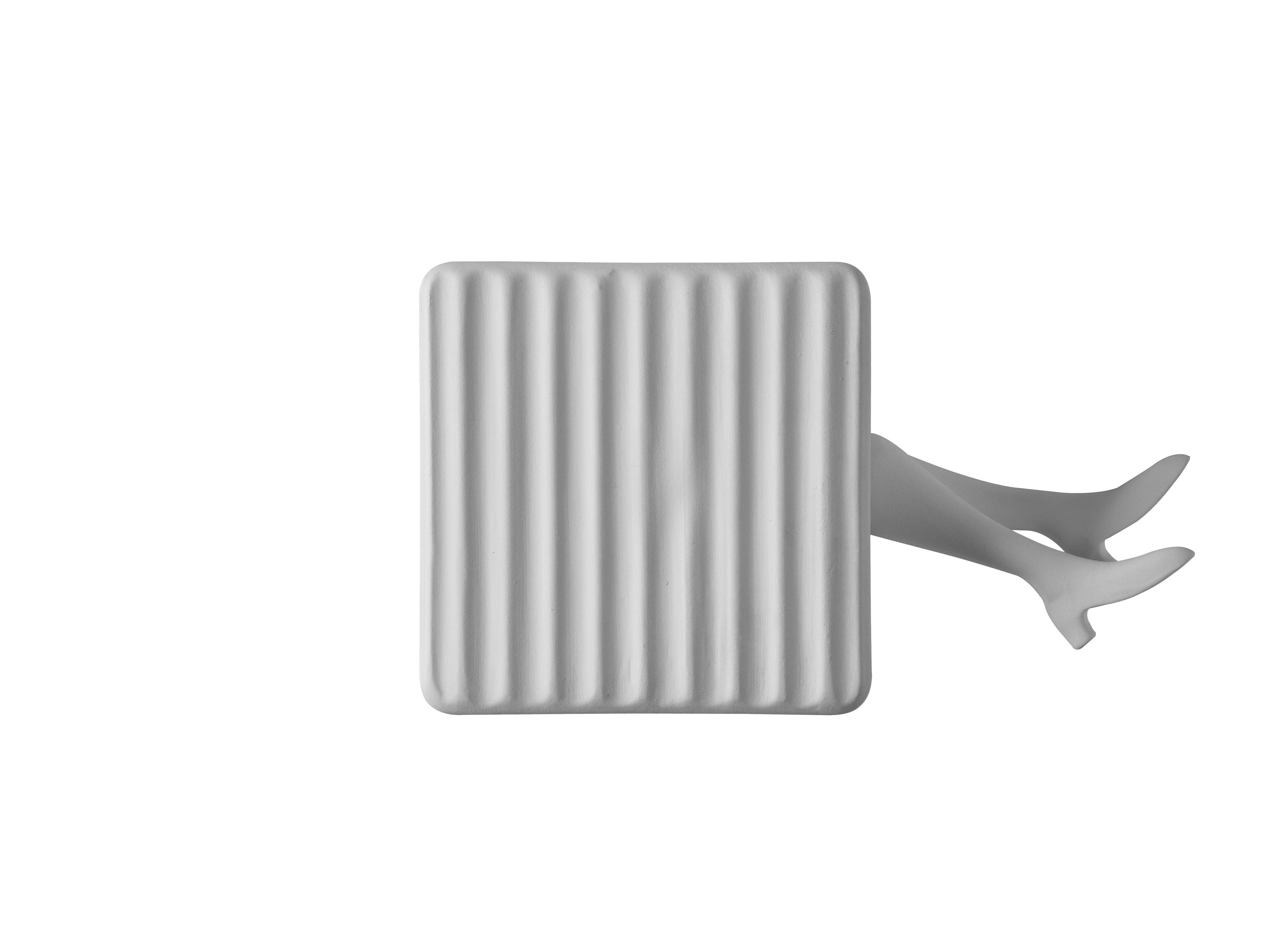 Illuminazione - Lampade da parete - Applique Binarell LED - / Gambe - Ceramica di Karman - Gambe / Bianco - Ceramica