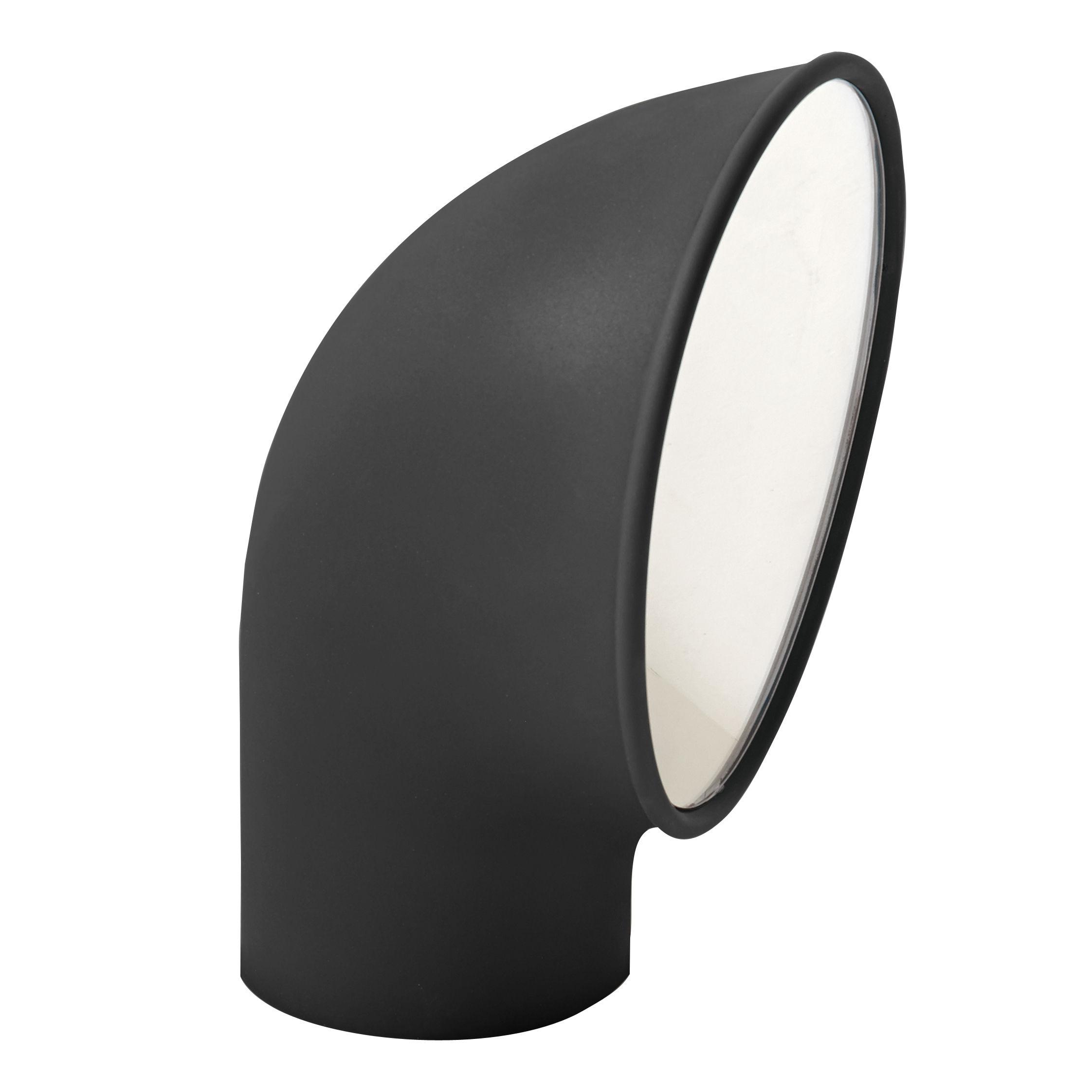Luminaire - Luminaires d'extérieur - Borne d'éclairage Piroscafo / LED - H 37 cm - Artemide - Gris - Fonte d'aluminium, Polycarbonate