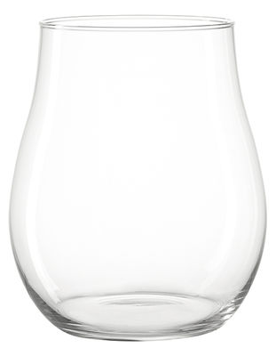 Decoration - Candles & Candle Holders - Giardino Candle holder - H 27 cm by Leonardo - H 27 cm / Transparent - Glass