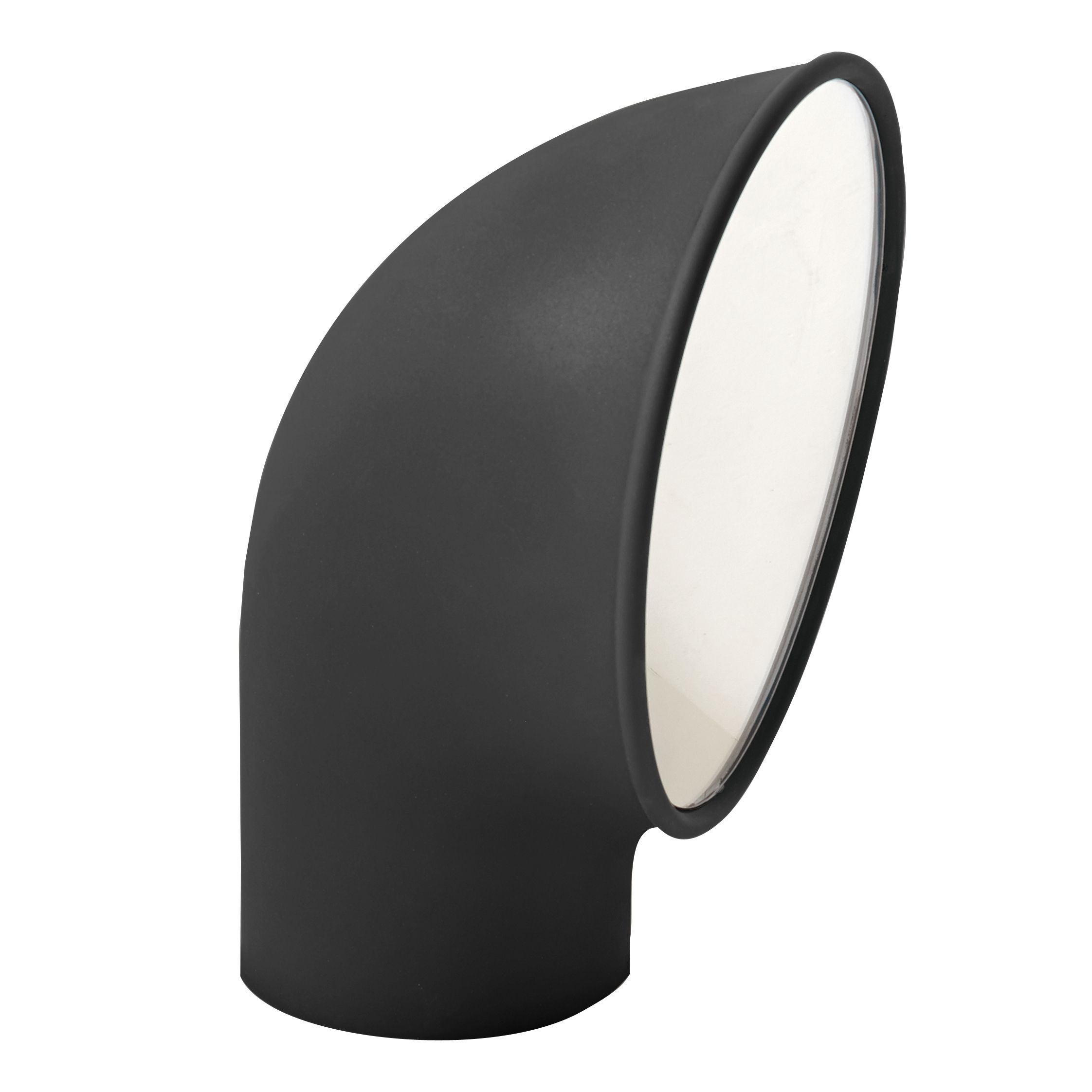 Lighting - Outdoor Lighting - Piroscafo Garden light - LED - H 37 cm by Artemide - Grey - Cast aluminium, Polycarbonate