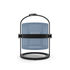 Lamapada solare La Lampe Petite LED - / Senza filo - Struttura nera di Maiori