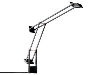 Lampe de table Tizio Micro - Artemide noir en matière plastique