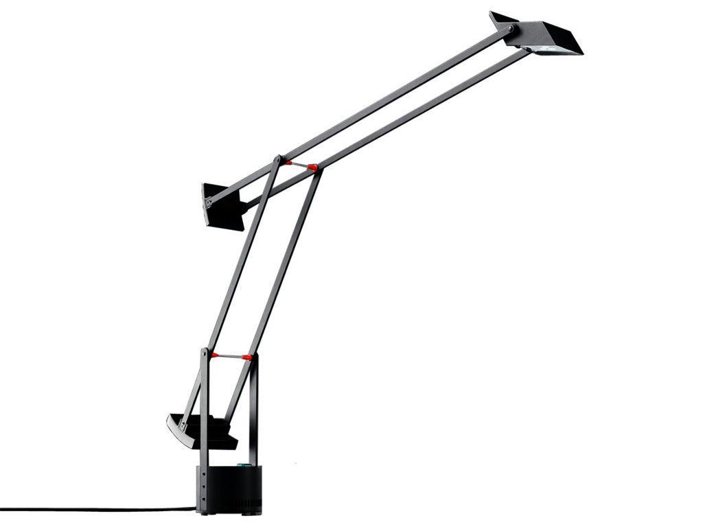 Luminaire - Lampes de table - Lampe de table Tizio Micro - Artemide - Noir - Polycarbonate peint