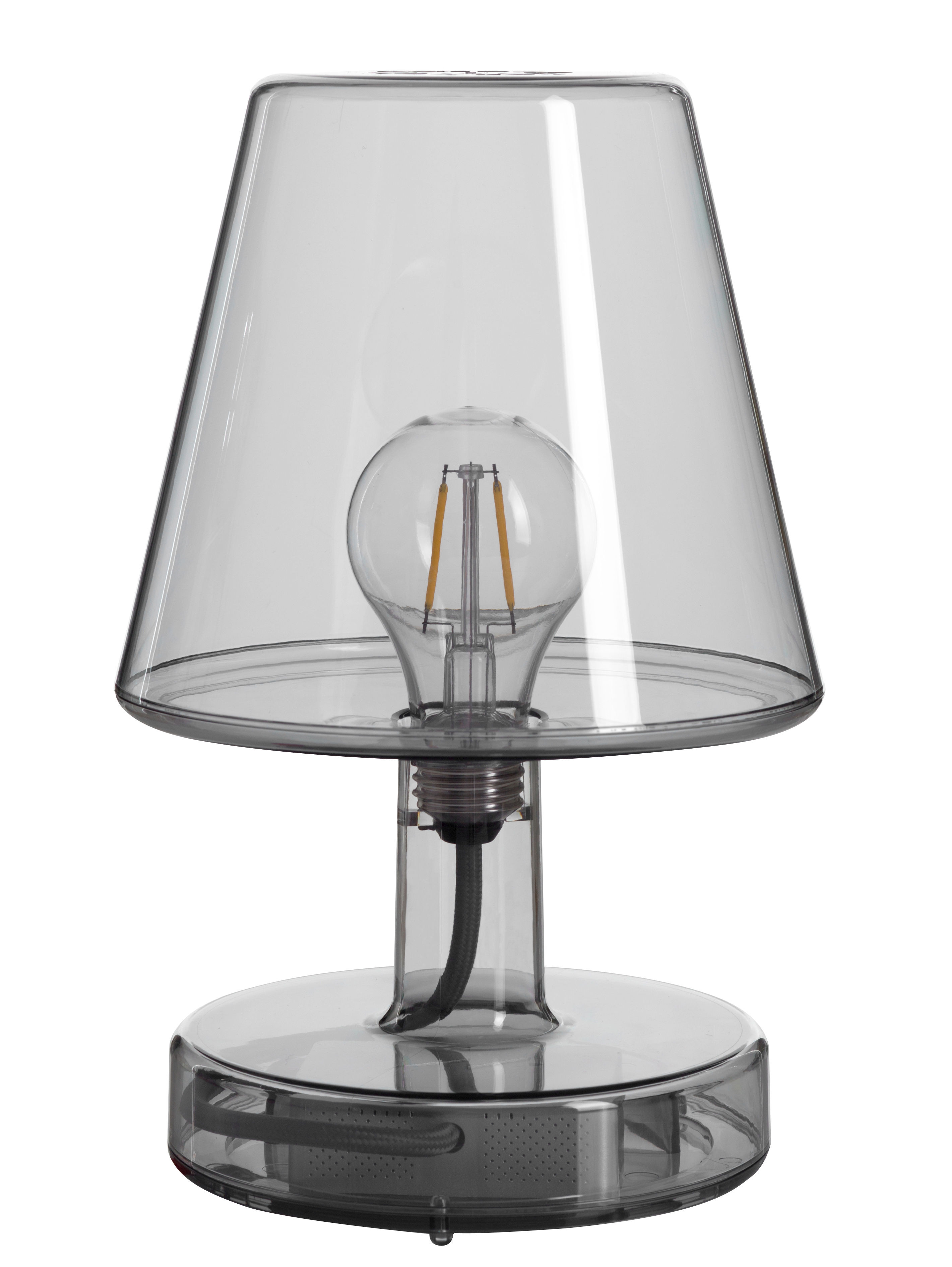 Lampe Ohne Kabel Transloetje Von Fatboy Grau H 25 5 Made In Design