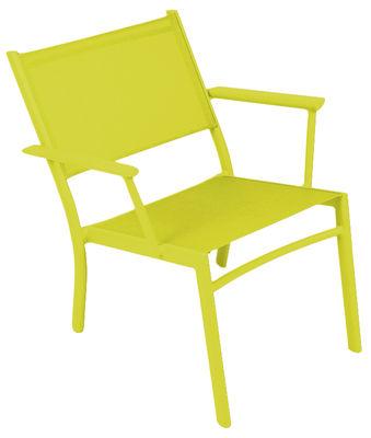 Costa Lounge Sessel - Fermob - Eisenkraut