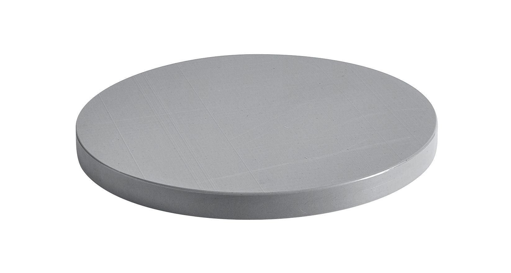 Cuisine - Ustensiles de cuisines - Planche à découper Large / Ø 34 cm - Polyéthylène - Hay - Gris - Polyéthylène