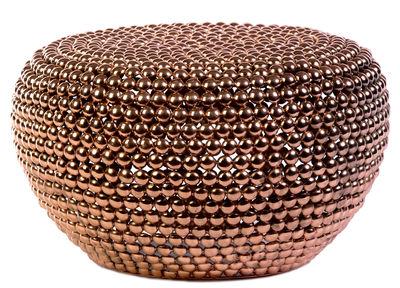 Arredamento - Pouf - Pouf Dot - / Ø 60 x H 35 cm di Pols Potten - Rame - Metallo