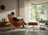 Set fauteuil & repose-pieds Grand Relax & Ottoman / Pivotant & inclinable - Cuir - Vitra
