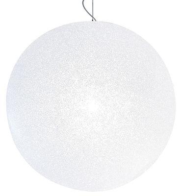 Suspension IceGlobe Ø 57 cm - Lumen Center Italia blanc en matière plastique