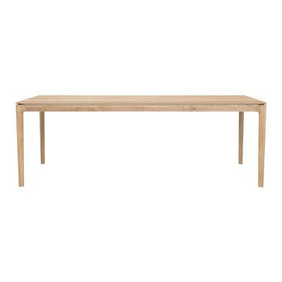 Table rectangulaire Bok / Chêne massif - 220 x 95 cm / 8 personnes - Ethnicraft bois naturel en bois