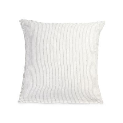 Déco - Textile - Taie d'oreiller 65 x 65 cm / Lin lavé - Au Printemps Paris - 65 x 65 cm / Rayé écru - Lin lavé