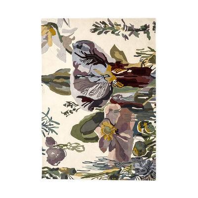Déco - Tapis - Tapis Flora - Backyard / By Santoi Moix - 170 x 240 cm / Laine - Nanimarquina - 170 x 240 cm / Multicolore - Laine vierge