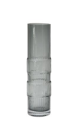 Déco - Vases - Vase Ondin Medium / Ø 8 x H 29 cm - ENOstudio - Medium / Bleu - Verre coloré