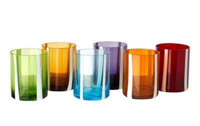 Verre Tumbler / Set de 6 - Pols Potten multicolore en verre