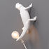 Chameleon Going Up Wall light with plug - / Wall light - Resin by Seletti