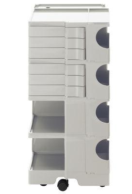 Möbel - Beistell-Möbel - Boby Ablage / H 94 cm - 6 Schubladen - B-LINE - Weiß - ABS