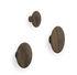 Appendiabiti The Dots Wood - / Medium - Ø 13 cm di Muuto