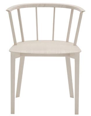 Mobilier - Chaises, fauteuils de salle à manger - Chaise Deck / Bois - Glas Italia - Bois naturel - Frêne