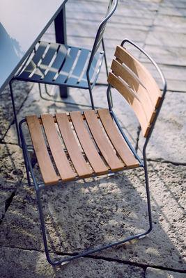 Chaise empilable Surprising Bois & métal Fermob