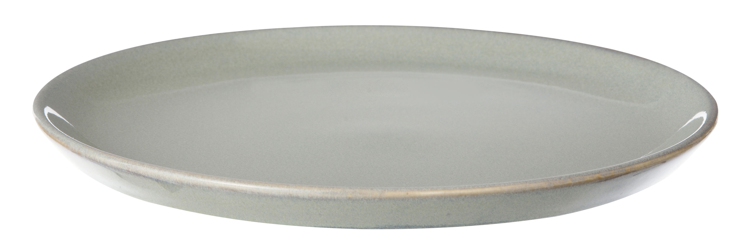 Tischkultur - Teller - Neu Dessertteller / Ø 22 cm - Ferm Living - Grau - emaillierte Keramik