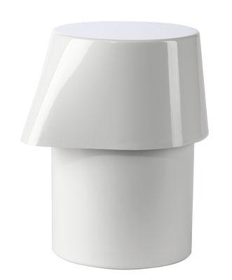 Déco - Salle de bains - Distributeur de savon Kali - Authentics - Blanc - ABS