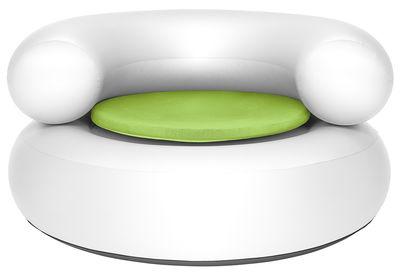 Chaise gonflable Ch-air / Galette d'assise - Fatboy blanc,vert en matière plastique