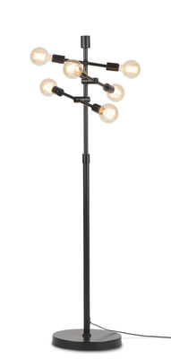 Lighting - Floor lamps - Nashville Floor lamp - / Articulated arms - H 158 cm by It's about Romi - Black - Iron