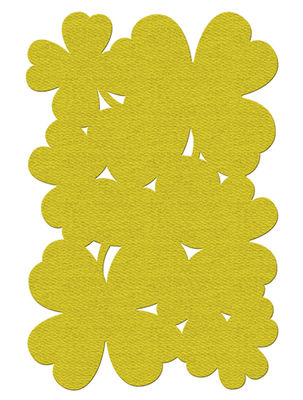Decoration - Rugs - Trèfle Outdoor rug by Fermob - Pineapple - PVC