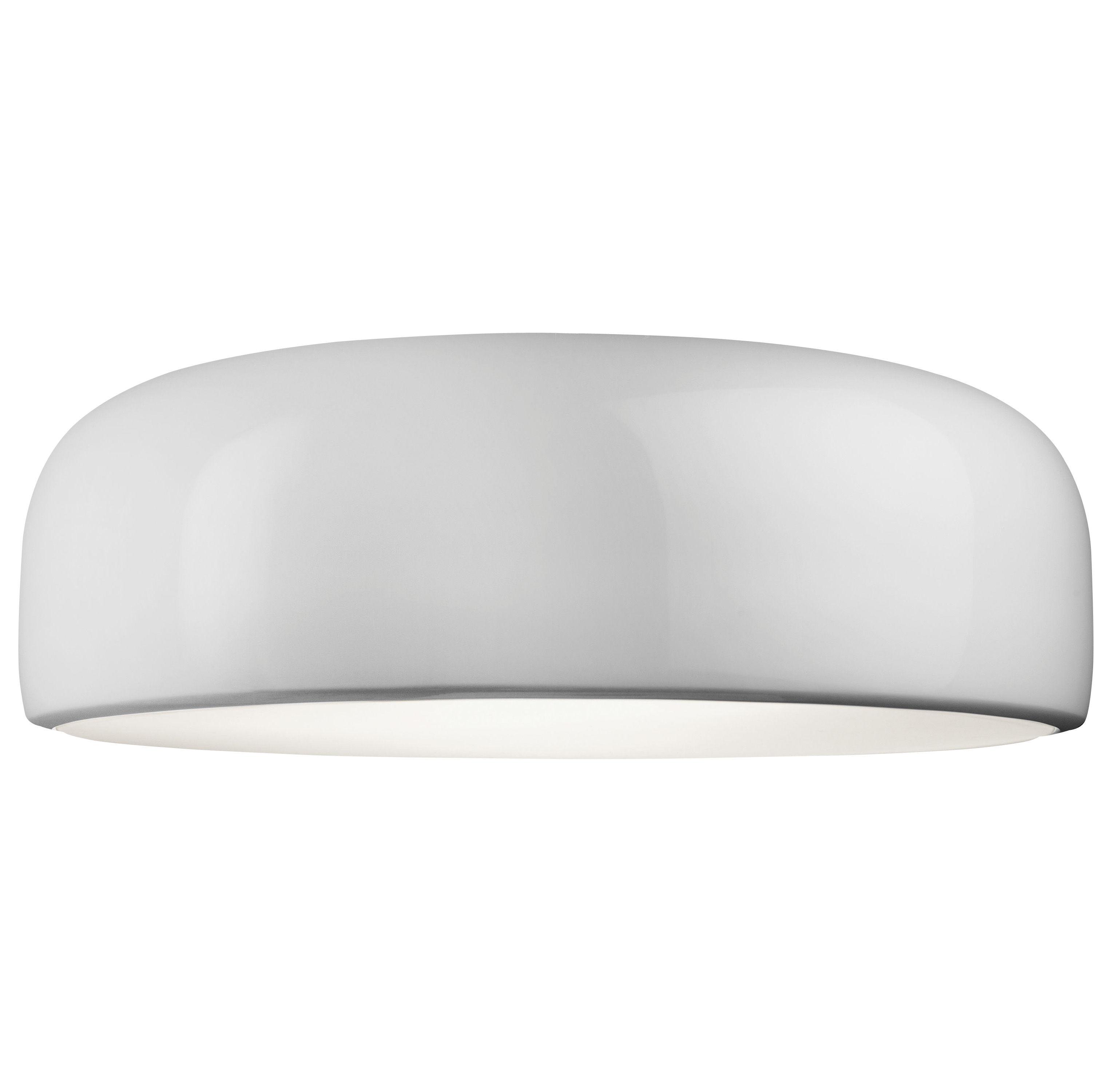 Illuminazione - Plafoniere - Plafoniera Smithfield di Flos - Alogena - Bianco - alluminio verniciato