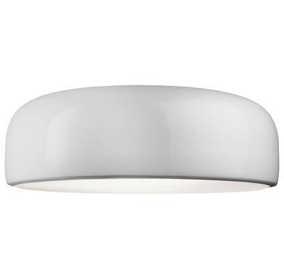 Luminaire - Plafonniers - Plafonnier Smithfield / LED - Flos - Blanc - Aluminium peint