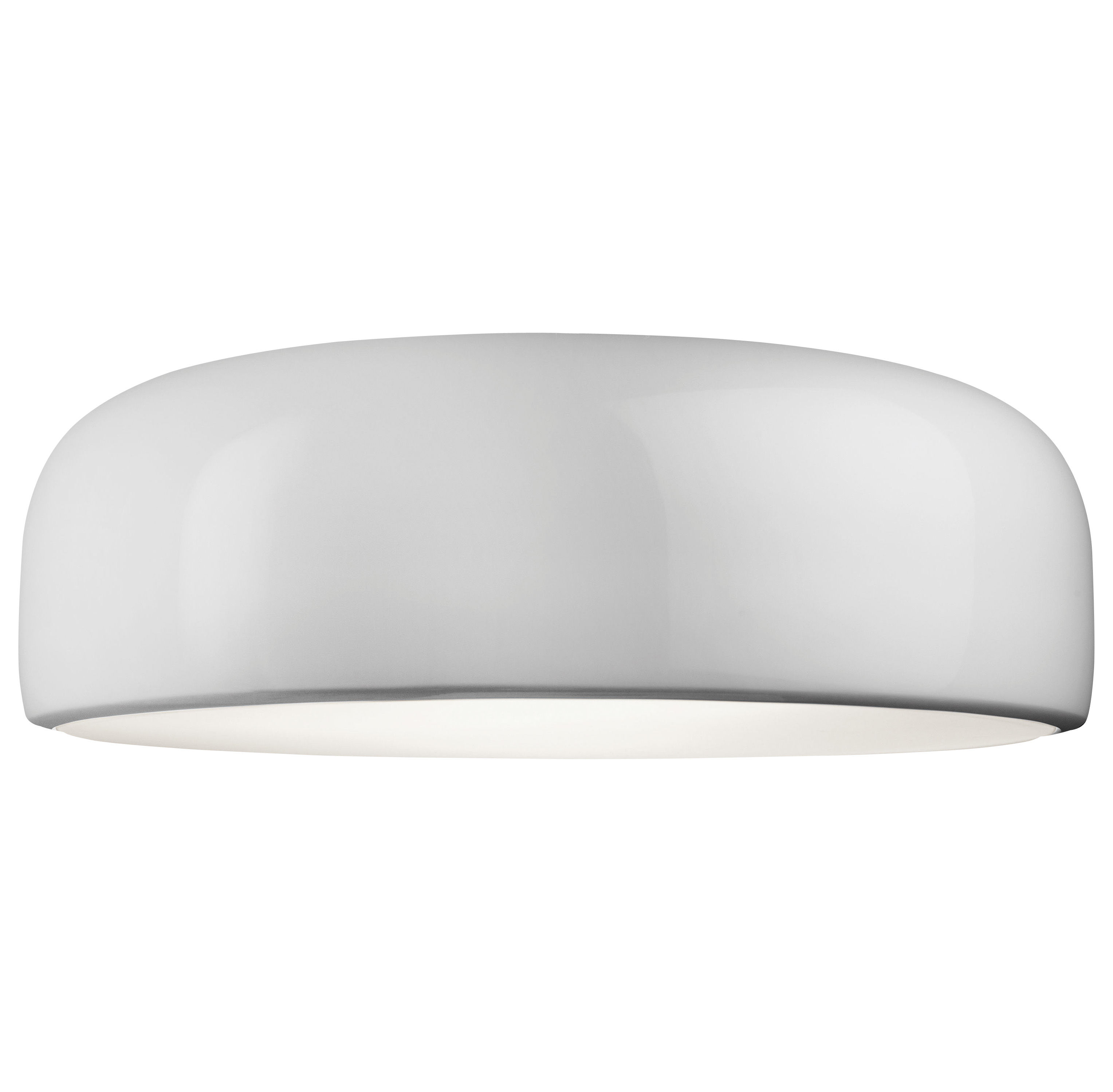 Luminaire - Plafonniers - Plafonnier Smithfield Pro / LED - Flos - Blanc - Aluminium peint