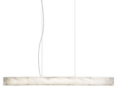 Luminaire - Suspensions - Suspension One by One / LED - L 159 cm - Belux - Blanc - Polyester