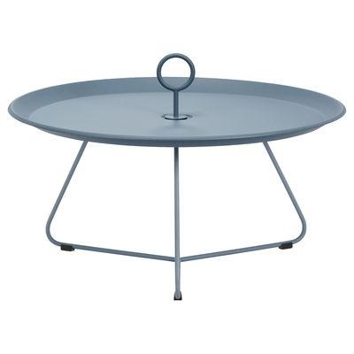 Table basse Eyelet Large / Ø 70 x H 35 cm - Métal - Houe bleu en métal