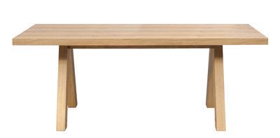 Dossiers - Top 100 - Table Oak / 200 x 100 cm - POP UP HOME - Chêne - MDF, Panneaux alvéolaires