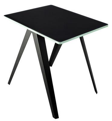 Table Sanba / 60 x 75 cm - Serax noir,turquoise en métal