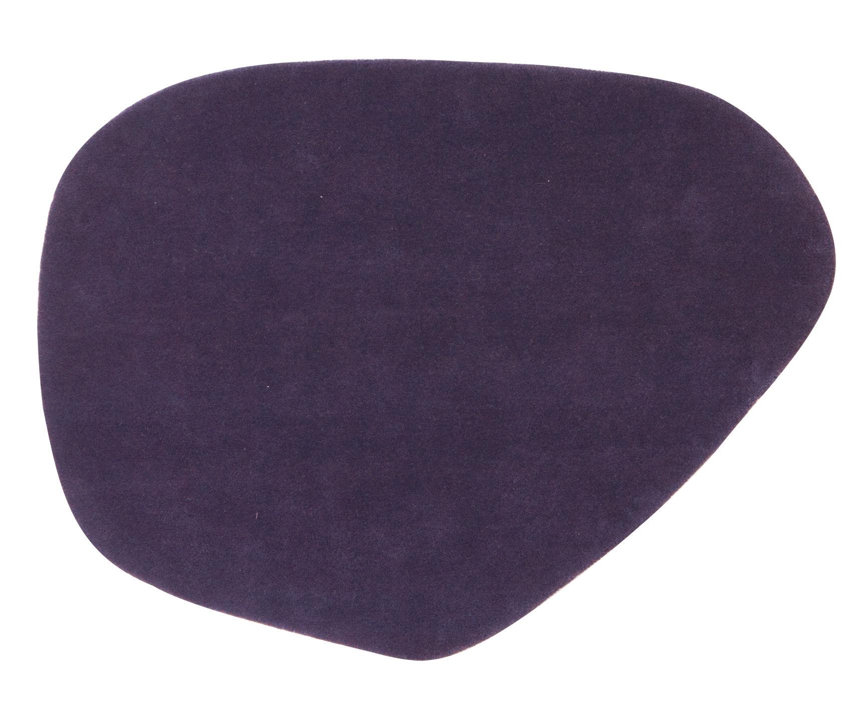Arredamento - Tappeti  - Tappeto Calder - 90 x 120 cm di Nanimarquina - 90 x 120 cm / Viola - Lana