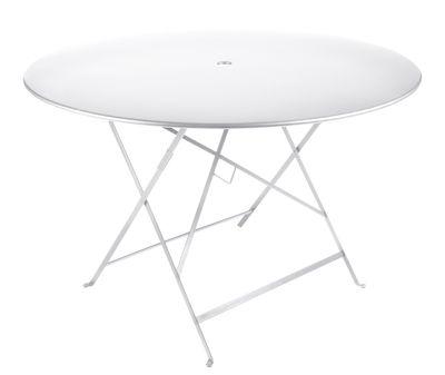 Tavolo pieghevole bistro di fermob bianco made in design for Tavolo pieghevole design