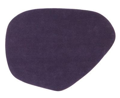 Möbel - Teppiche - Calder Teppich 90 x 120 cm - Nanimarquina - 90 x 120 cm / Violett - Wolle