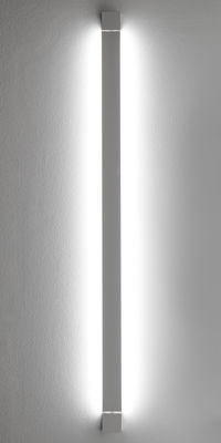 Luminaire - Appliques - Applique Pivot LED / Plafonnier - L 112 cm - Fabbian - Blanc - Aluminium peint
