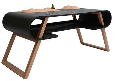 Bureau enfant Rubens / Ardoise - Compagnie vert foncé en bois
