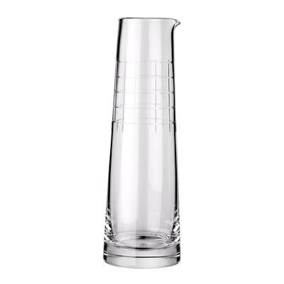 Arts de la table - Carafes et décanteurs - Carafe Graphik / 1 L - Cristal soufflé bouche - Christofle - Transparent - Cristal soufflé bouche