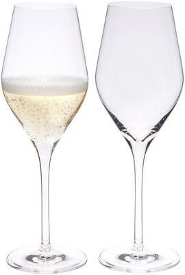 Tableware - Wine Glasses & Glassware - Good Size Champagne glass by L'Atelier du Vin - Transparent -  Nesium®, Blown glass