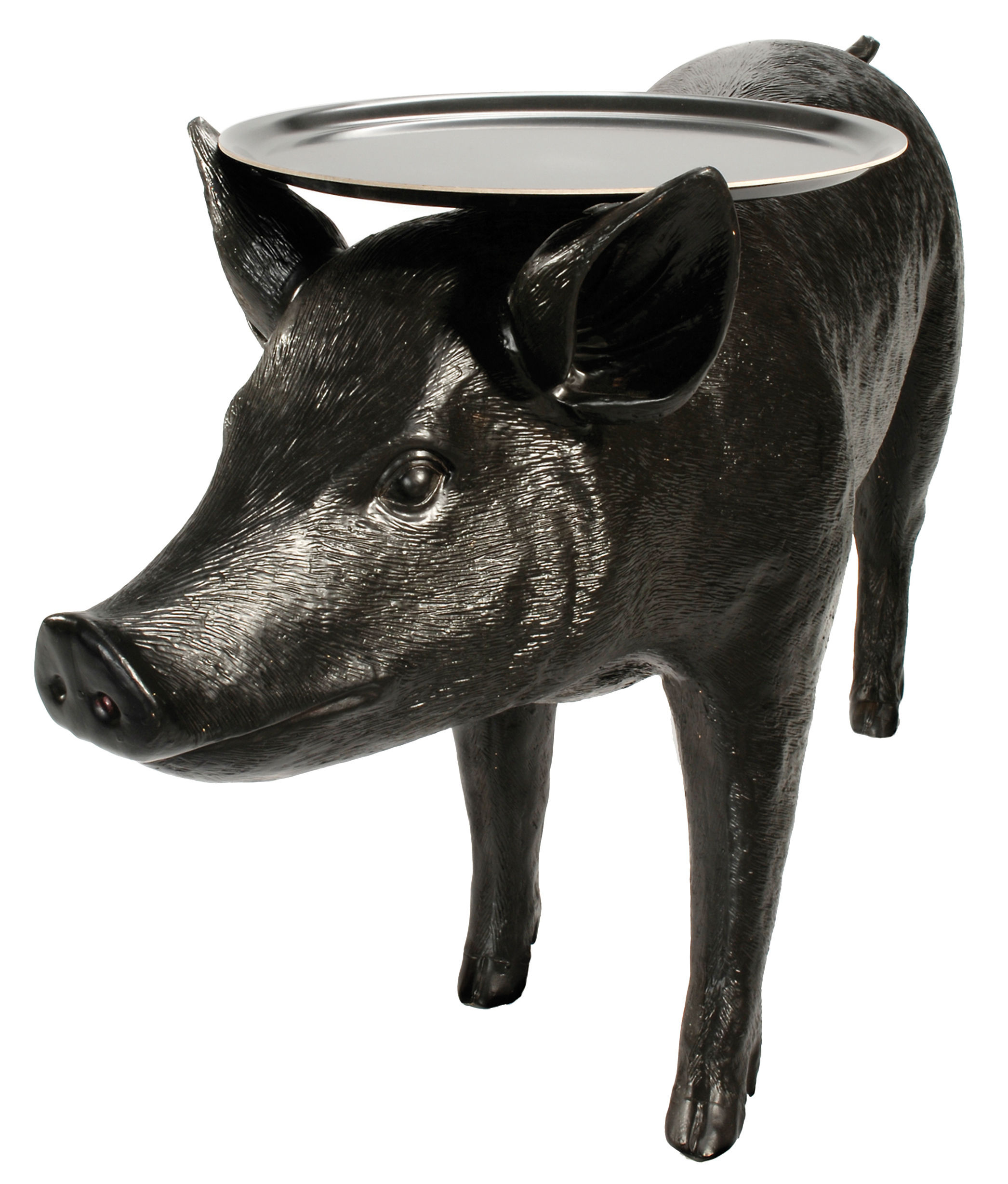 Furniture - Coffee Tables - Pig table Coffee table by Moooi - Black - Polyester