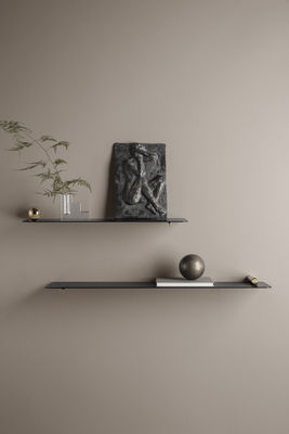 Etagere Flying Cylindre Ferm Living Noir Metal Made In Design