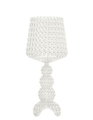 Lampe à poser Mini Kabuki / LED - H 70 cm - Kartell blanc en matière plastique