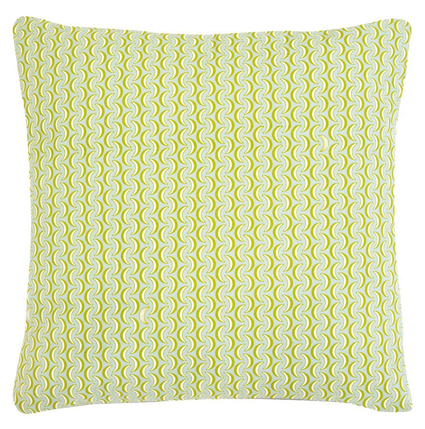 Decoration - Cushions & Poufs - Envie d'ailleurs - Bananes Outdoor cushion - 70x70 cm by Fermob - Light blue - Foam, Water repellant cotton