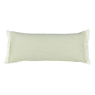 Decoration - Cushions & Poufs - Evasion Outdoor cushion - / 35 x 70 cm by Fermob - Panama green - Acrylic fabric, Foam
